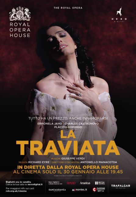 LA TRAVIATA - DAL ROYAL OPERA HOUSE 2018/2019